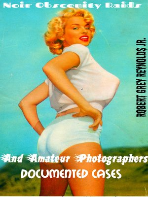 cover image of Noir Obscenity Raids and Amateur Photographers Documented Cases