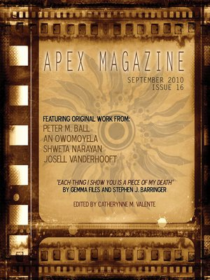 cover image of Apex Magazine