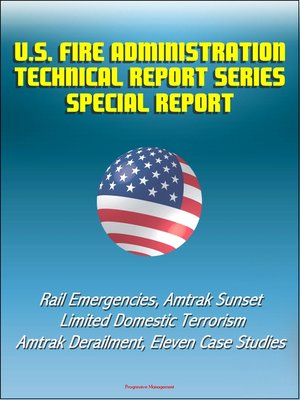 cover image of U.S. Fire Administration Technical Report Series Special Report