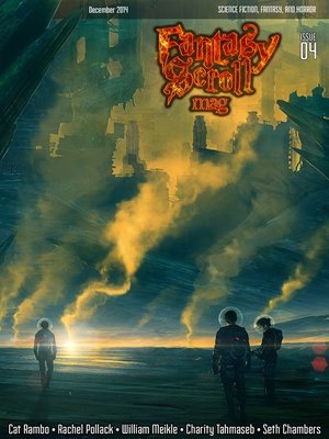cover image of Fantasy Scroll Magazine Issue #4