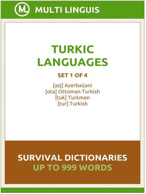 cover image of Turkic Languages Survival Dictionaries (Set 1 of 4)