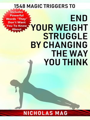 cover image of 1548 Magic Triggers to End Your Weight Struggle by Changing the Way You Think