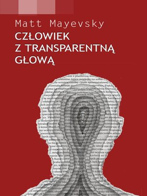 cover image of Człowiek z transparentną głową