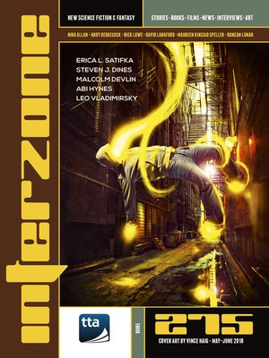 cover image of Interzone #275 (May-June 2018)