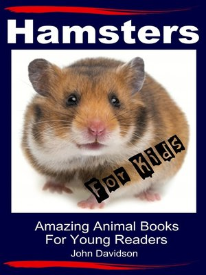 cover image of Hamsters for Kids