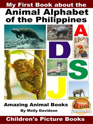 cover image of My First Book about the Animal Alphabet of the Philippines