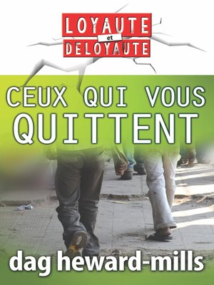 cover image of Ceux qui vous quittent