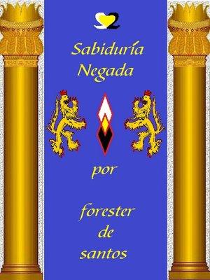 cover image of Sabiduría Negada