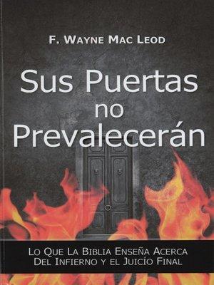 cover image of Sus Puertas no Prevalencerán