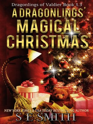 cover image of A Dragonlings' Magical Christmas