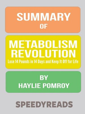 cover image of Summary of Metabolism Revolution