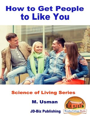 cover image of How to Get People to Like You