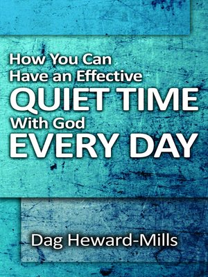cover image of How You Can Have an Effective Quiet Time With God Every Day