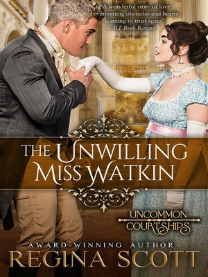cover image of The Unwilling Miss Watkin