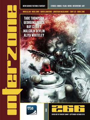 cover image of Interzone #266 (September-October 2016)