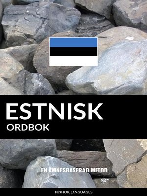 cover image of Estnisk ordbok