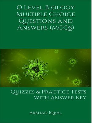cover image of O Level Biology MCQs