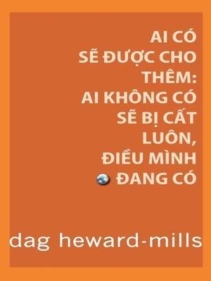 cover image of Ai Có Sẽ Được Cho Thêm