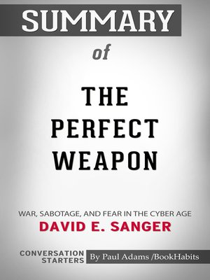 cover image of Summary of the Perfect Weapon