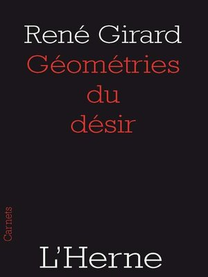 cover image of Géométries du désir
