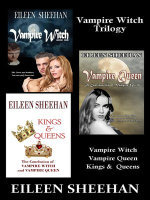 cover image of Vampire Witch Trilogy