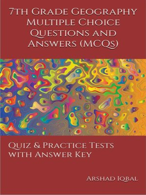 cover image of Grade 7 Geography Multiple Choice Questions and Answers (MCQs)