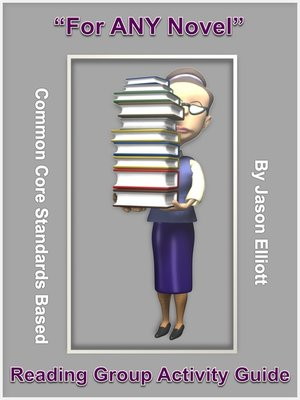 "cover image of ""For Any Novel"" Reading Group Activity Guide"