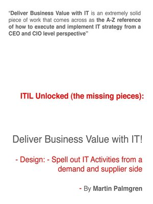 cover image of ITIL Unlocked (The Missing Pieces)