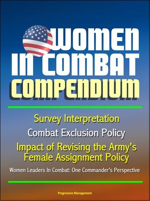 cover image of Women in Combat Compendium