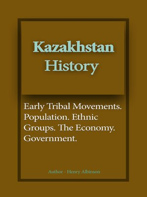 cover image of Kazakhstan History