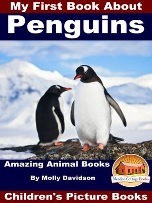 cover image of My First Book About Penguins