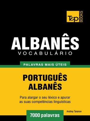cover image of Vocabulário Português-Albanês