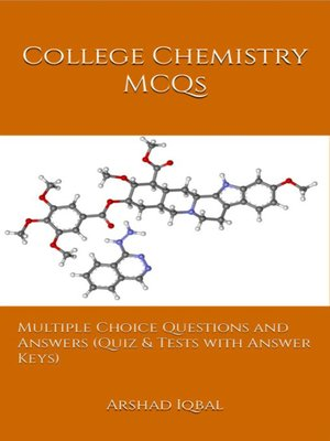 cover image of College Chemistry MCQs