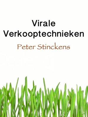cover image of Virale Verkooptechnieken