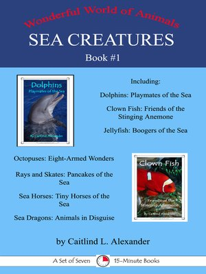 cover image of Sea Creatures Book 1