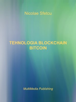 cover image of Tehnologia Blockchain