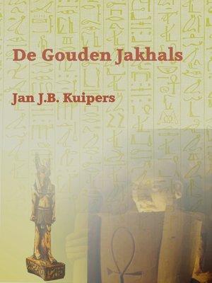 cover image of De gouden jakhals