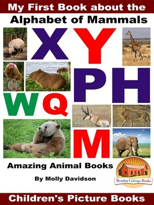 cover image of My First Book about the Alphabet of Mammals