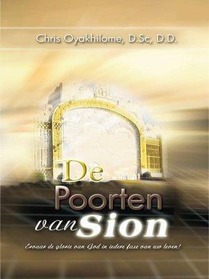 cover image of De Poorten van Sion