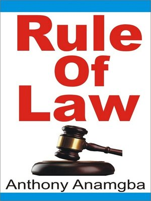 cover image of Rule of Law