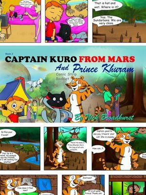 cover image of Captain Kuro From Mars and Prince Khuram Comic Strip Booklet