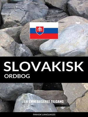 cover image of Slovakisk ordbog
