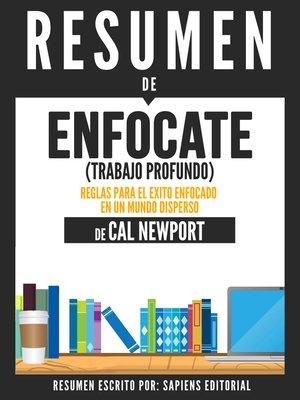 cover image of Enfocate (Trabajo Profundo)