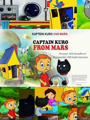cover image of Kaptein Kuro Van Mars