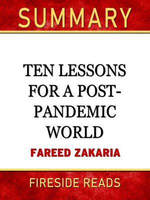cover image of Summary of Ten Lessons for a Post-Pandemic World by Fareed Zakaria