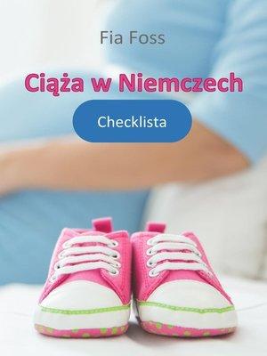 cover image of Ciąża w Niemczech