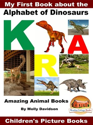 cover image of My First Book about the Alphabet of Dinosaurs
