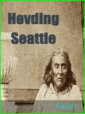 cover image of Høvding Seattles tale