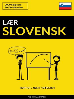 cover image of Lær Slovensk