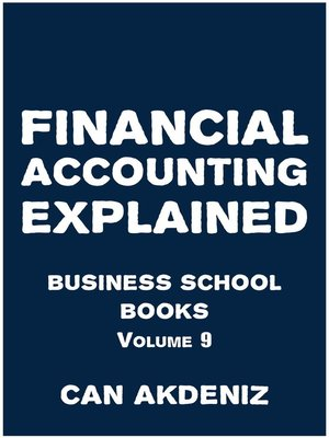 cover image of Financial Accounting Explained